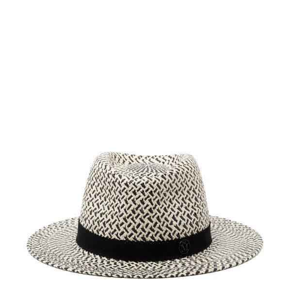 Andre woven panama straw trilby hat