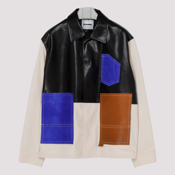 Multicolor shirt jacket