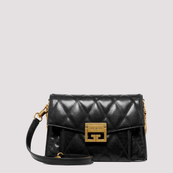 Black GV3 Quilted Leather...