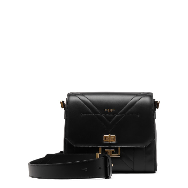 Black mini Eden bag in smooth leather