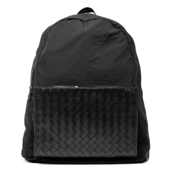 Black medium backpack
