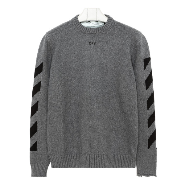 Gray Off sweater
