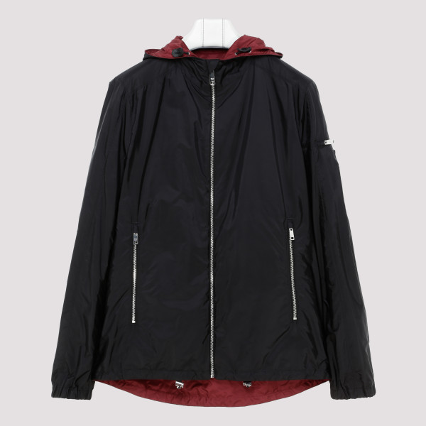 Black Technical fabric jacket
