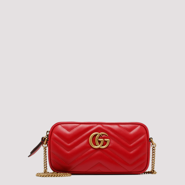 Red GG Marmont mini bag