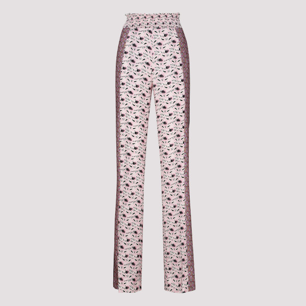 Prada PRINTED TECH FABRIC PANTS