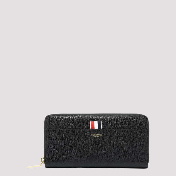 Black pebbled leather wallet