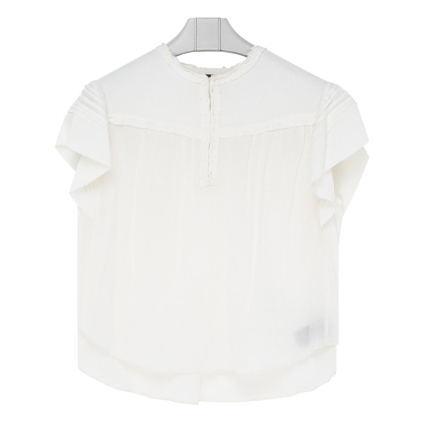White Irving Top