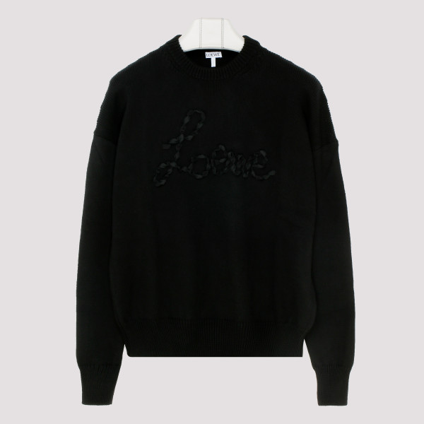 Black Stitch Sweater