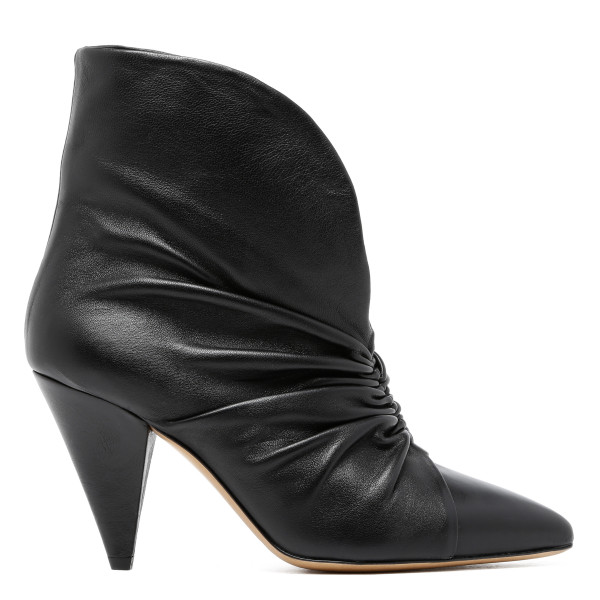 Black Lasteen 90 Leather Ankle Boots