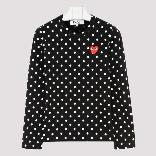 Polka dots long sleeves...