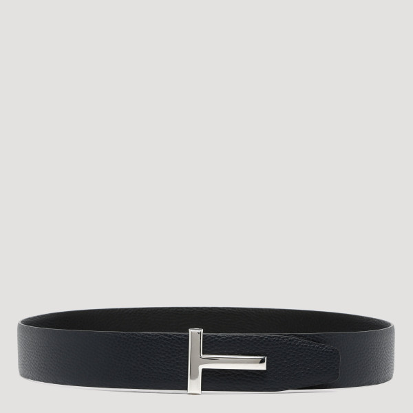 T-Icon dark navy and black reversible belt