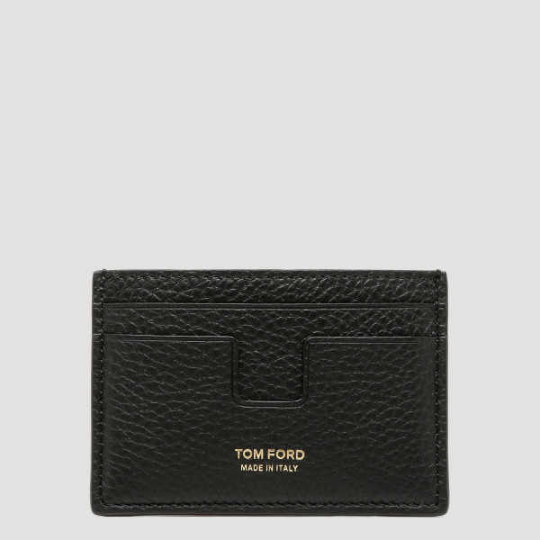 T-line black leather...