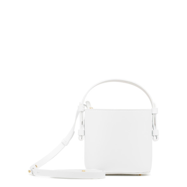 Adenia white mini bucket bag