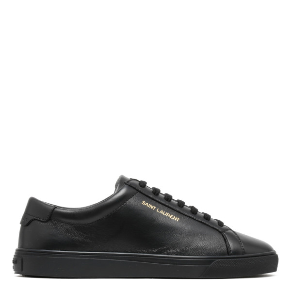 Black leather Andy sneakers