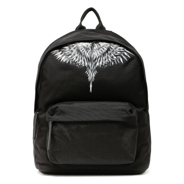 White sharp wings backpack