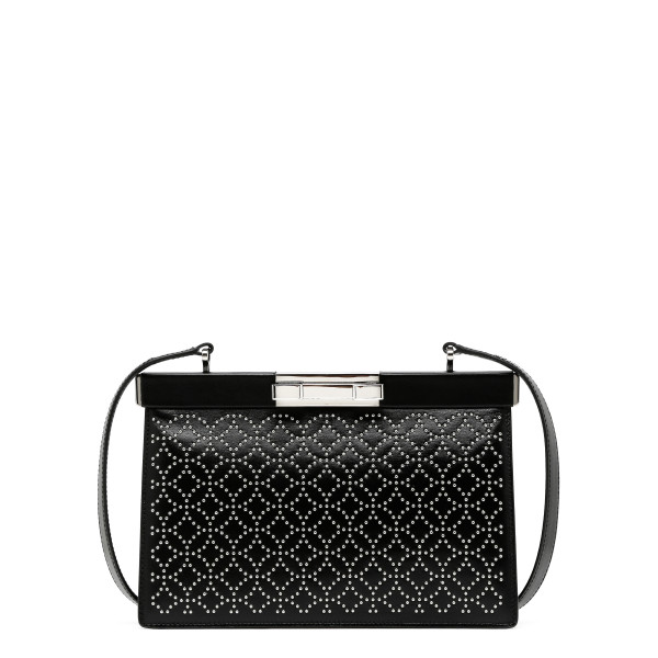 Cecile black shoulder bag
