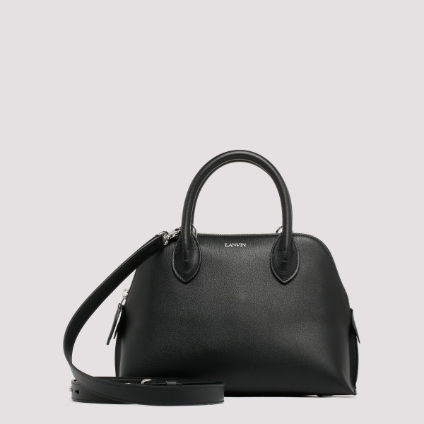 Black leather Magot bag