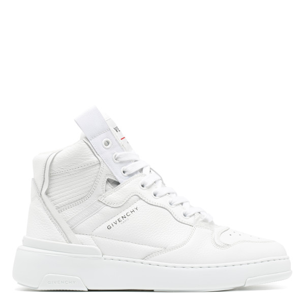 White wing Mid Sneakers