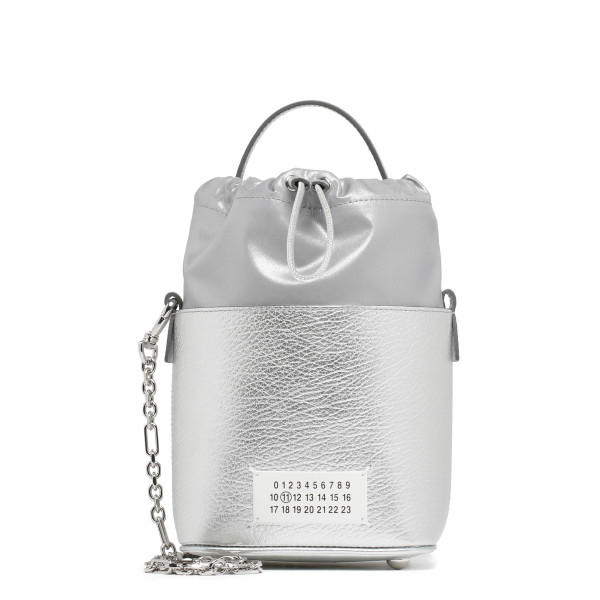 Silver 5ac Bucket bag
