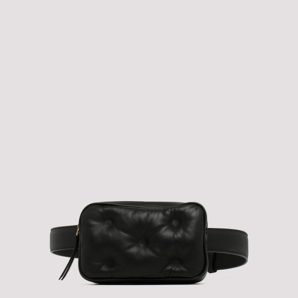 Black mini Glam Slam belt bag