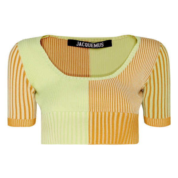 La Maille Yauco knitted top