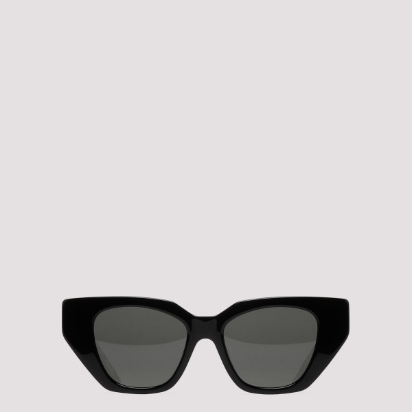 Black cat-eye acetate...