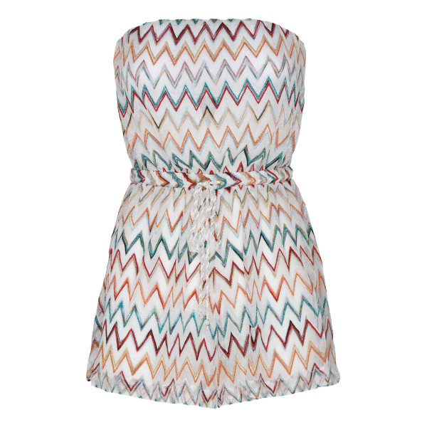 Multicolor Beach short dress