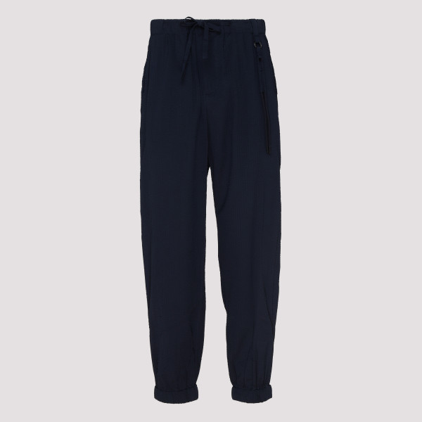 Navy cotton casual pants