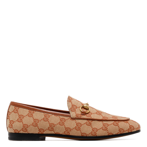 GG canvas loafers