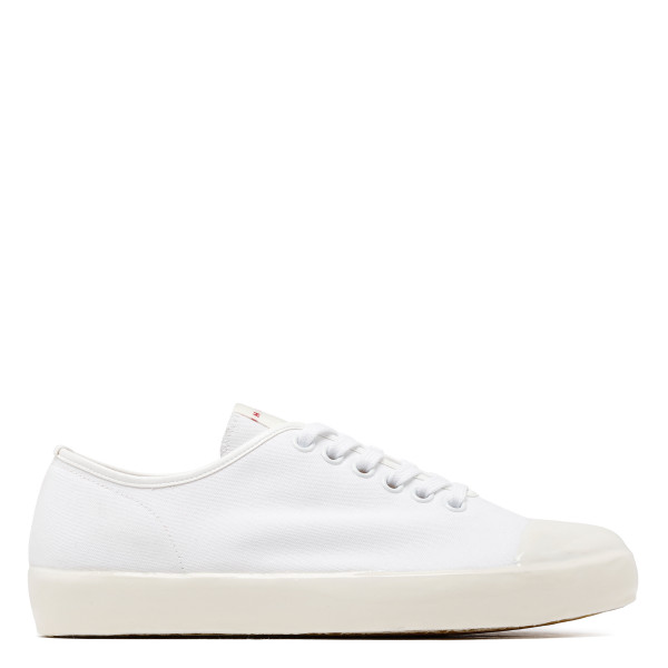 White canvas sneakers