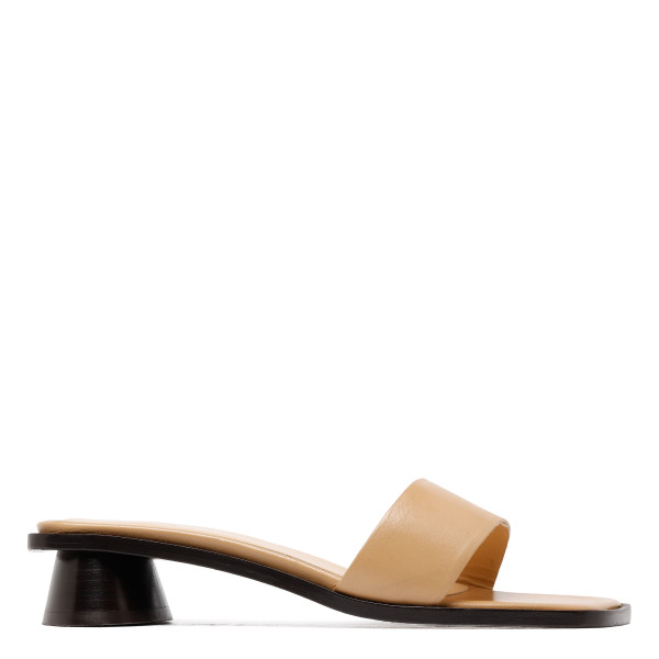 Beige Sonia leather sandals