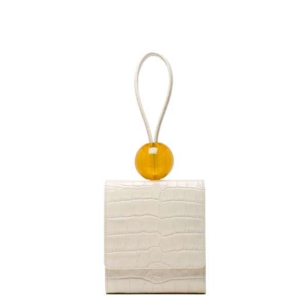 Cream Ball Bag