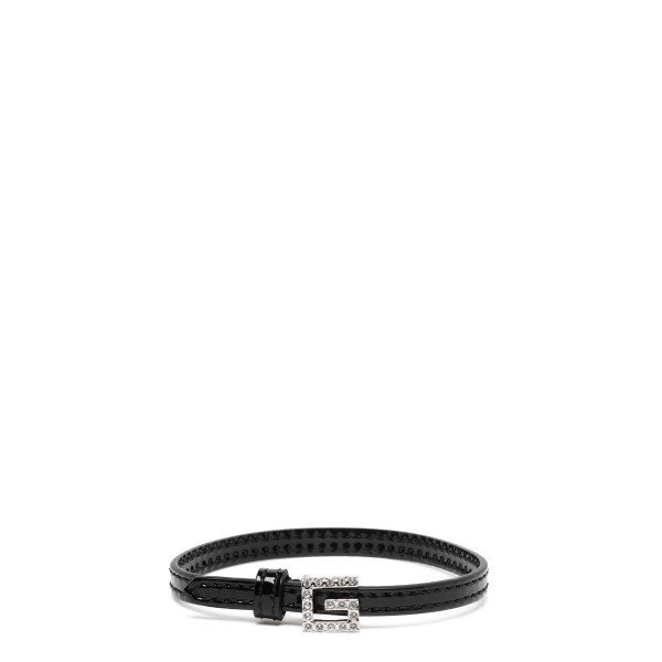 Leather bracelet with Square G