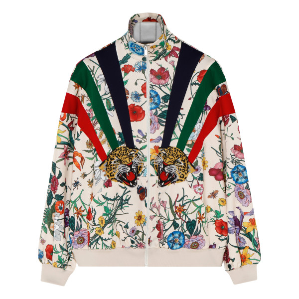 Chateau Marmont floral print track jacket