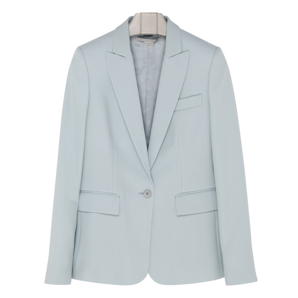 Light blue wool blazer