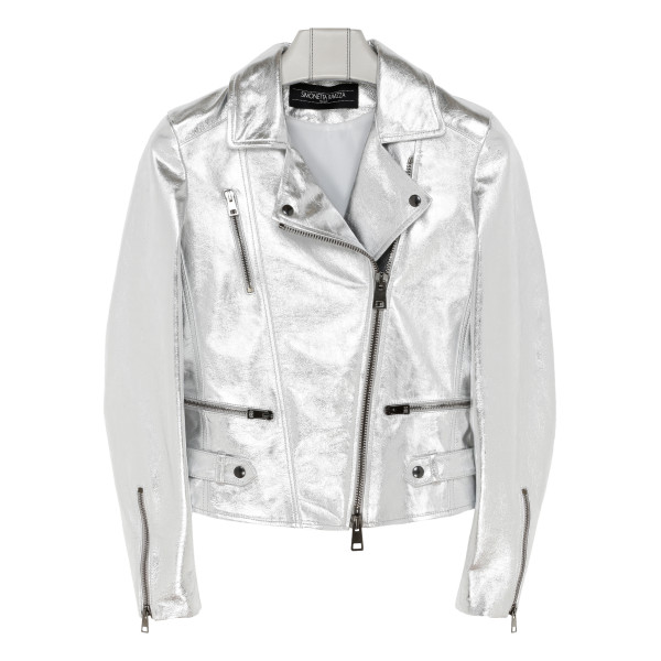 Silver Babis zipped jacket