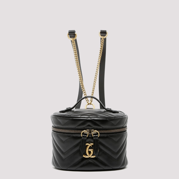 GG Marmont black mini backpack