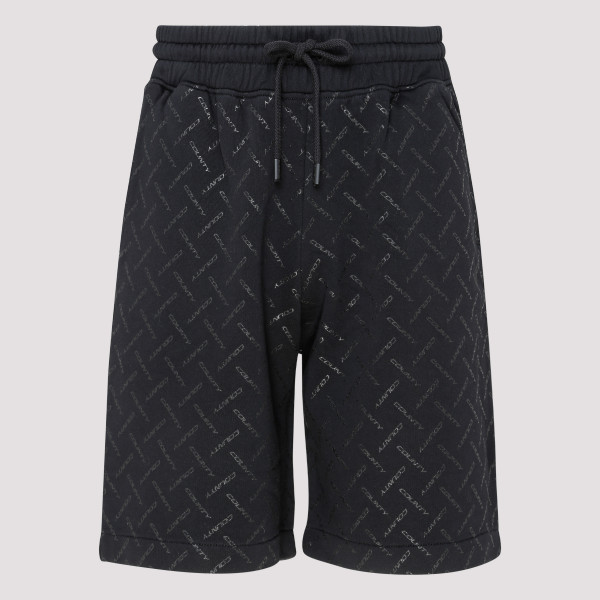 Black logo County shorts