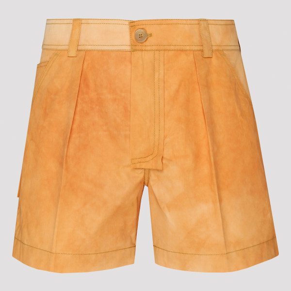 Yellow Le Short Washed...