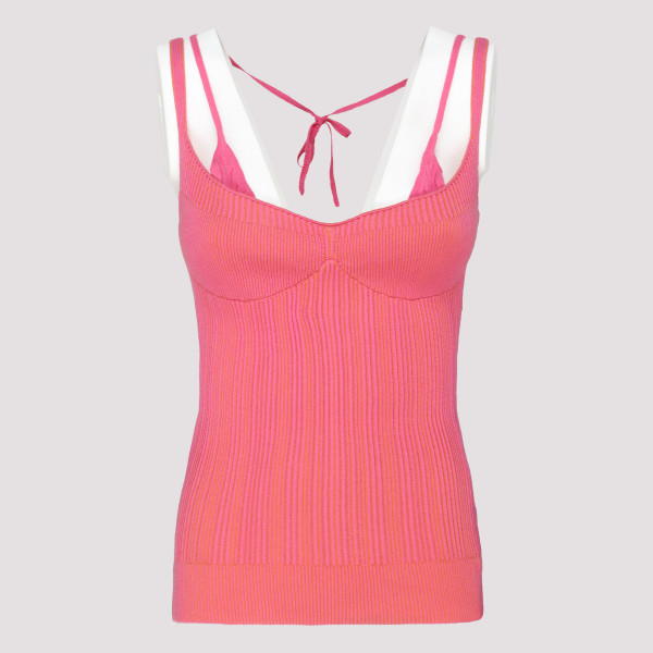 La maille Valensole pink top