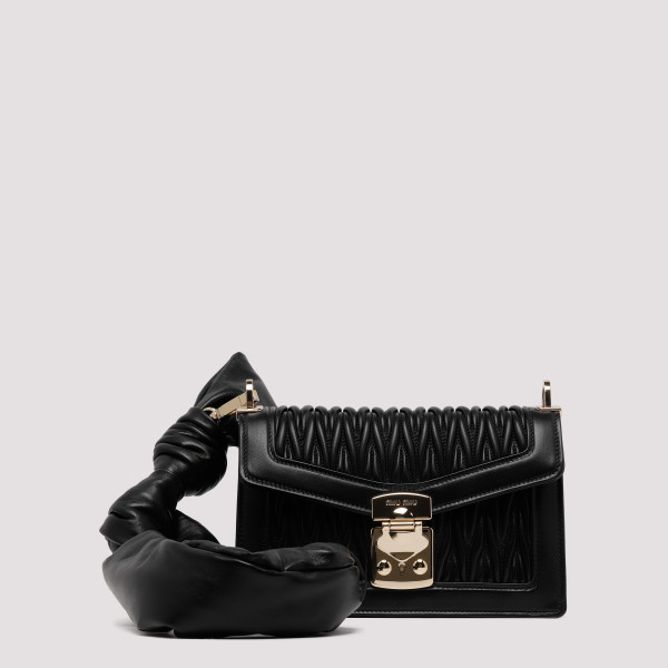 Black Confidential black mini bag