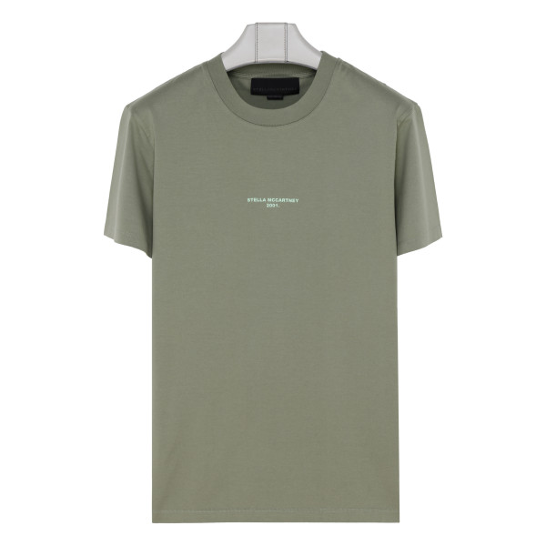 Green 2001 logo printed T-shirt
