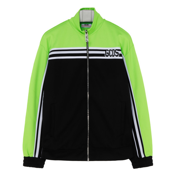 Green and black New zipped Tracksuit