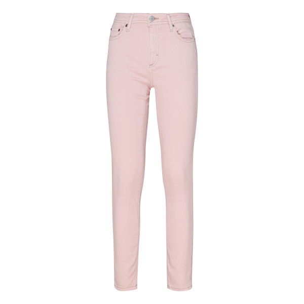 Pink stretch jeans