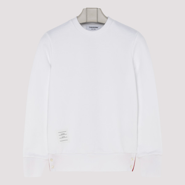 Center back stripe sweatshirt