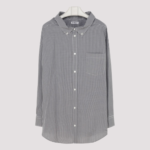 Cocoon swing check shirt