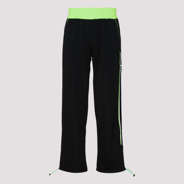 Black and green pants