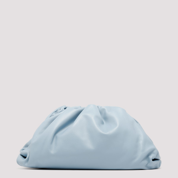 The Pouch ice blue leather...