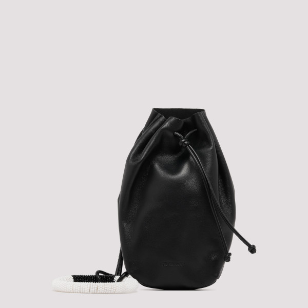 Pouch black bracelet bag
