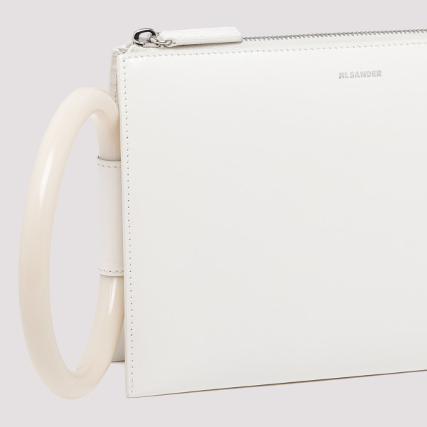 Tootie white small clutch